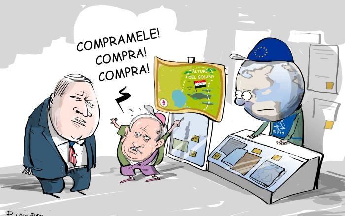 Netanyahu vuole le Alture del Golan