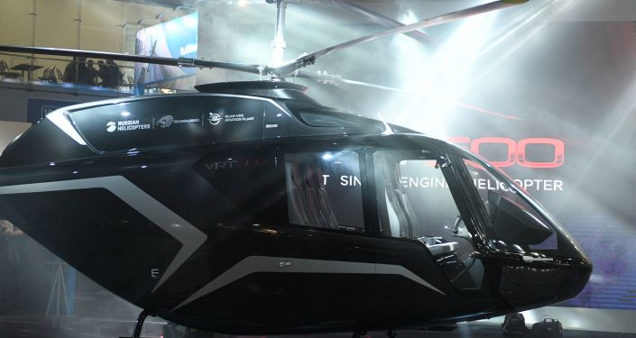 L'elicottero VRT500 della holding Russian Helicopters