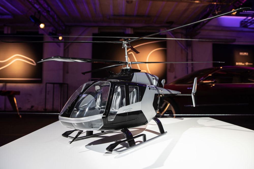 Il modello in scala 1:10 presentato a Milano nello showroom Italdesign