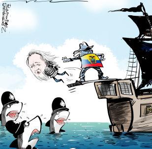 Julian Assange è stato arrestato a Londra