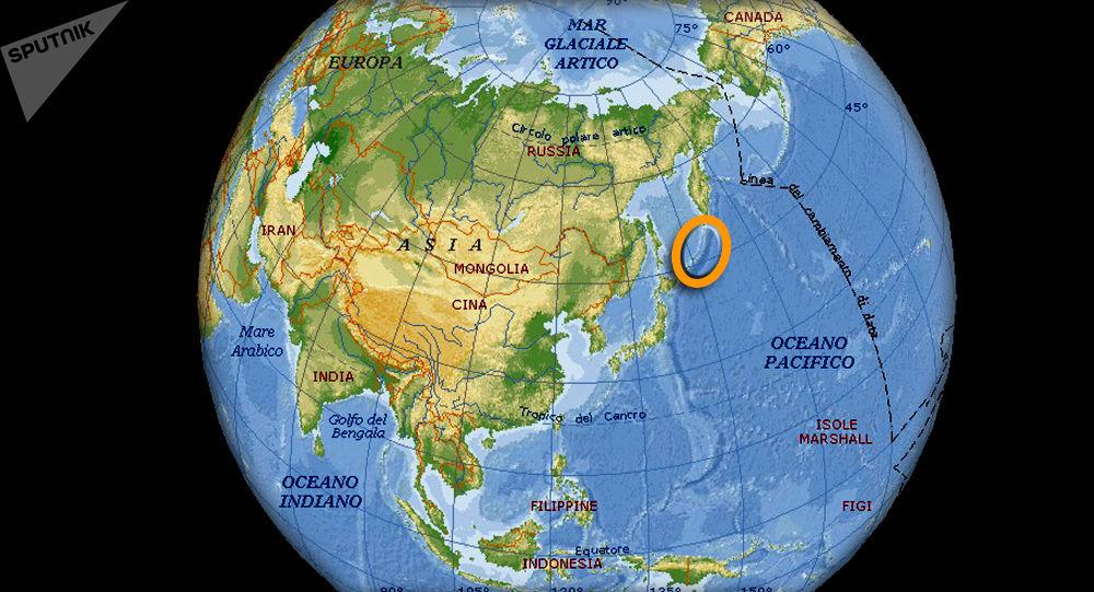Isole Curili - geolocalizzazione