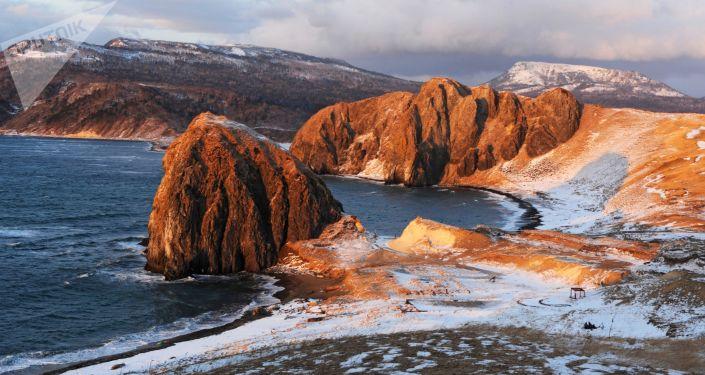 Inverno alle Curili
