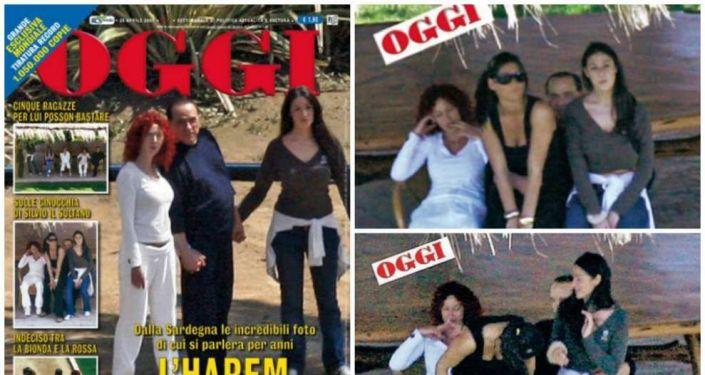La copertina del settimanale OGGI con le foto incriminate