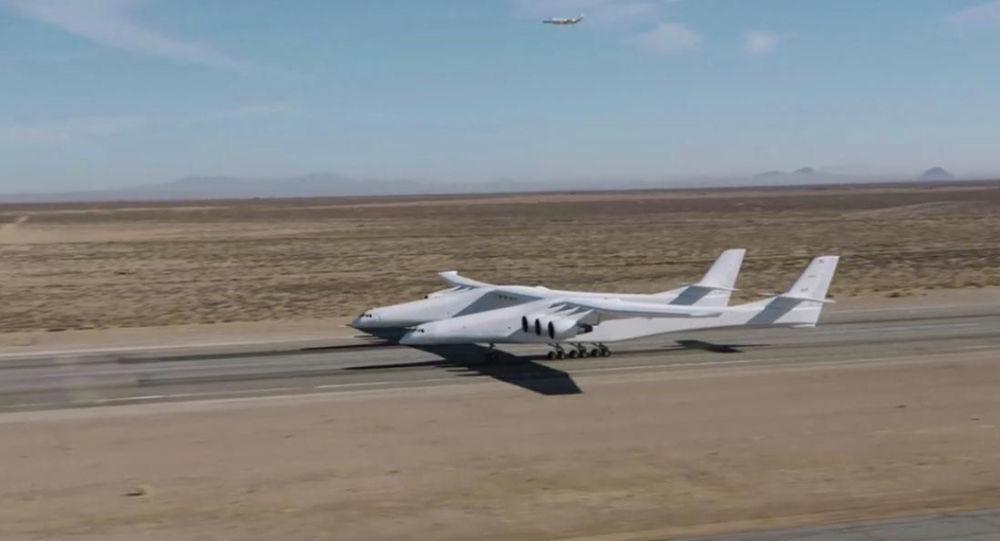 L'aereo Stratolaunch