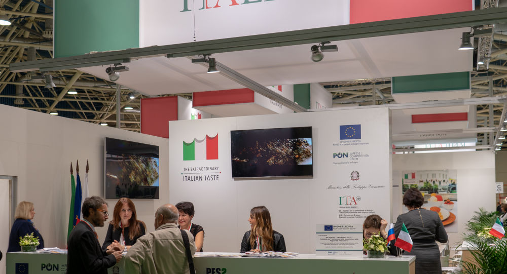 Il padiglione italiano a World Food Expo di Mosca