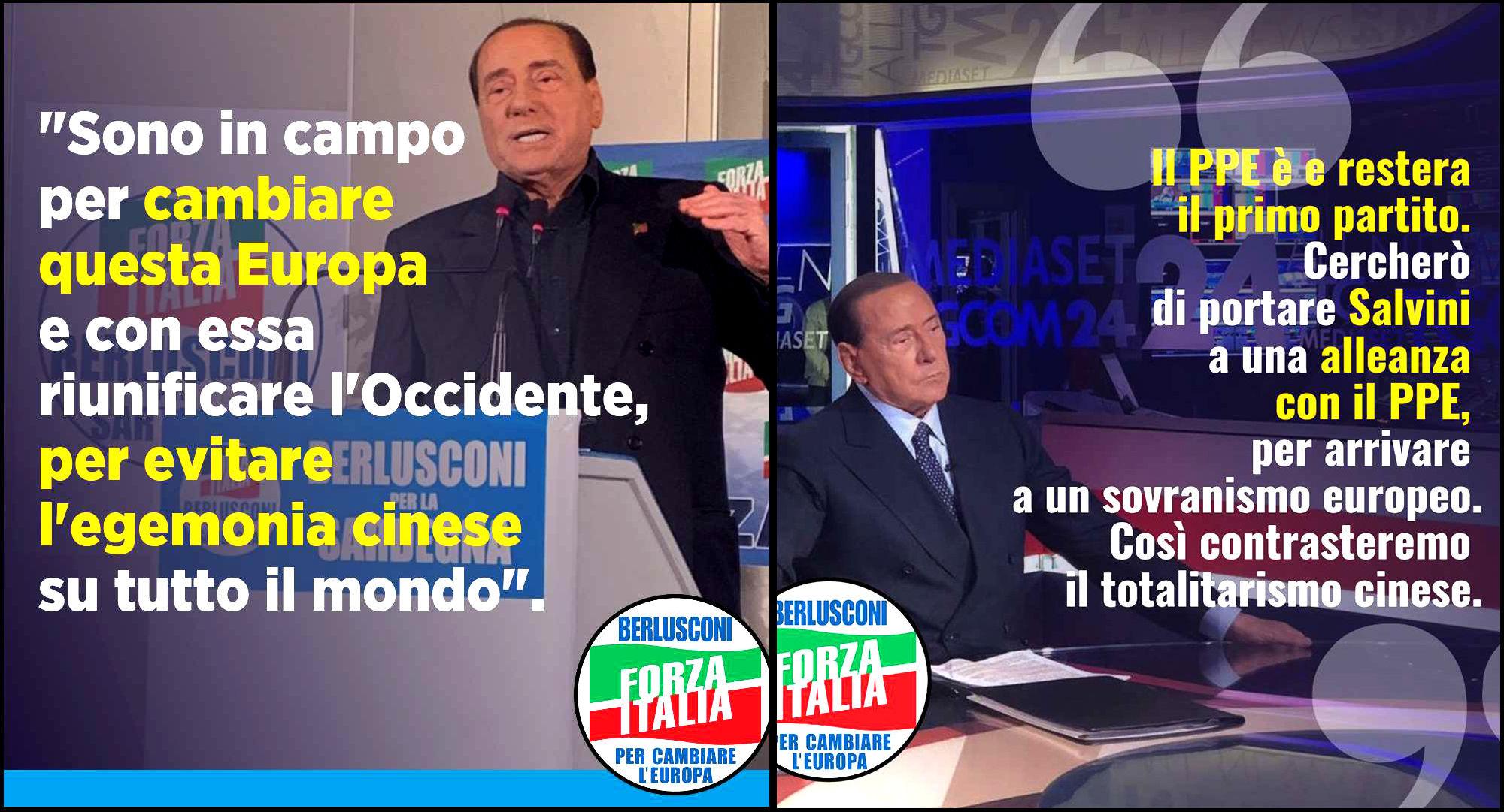 Berlusconi sinofobico