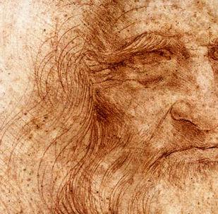 Leonardo - autoritratto (particolare, 1515 circa) Biblioteca Reale di Torino