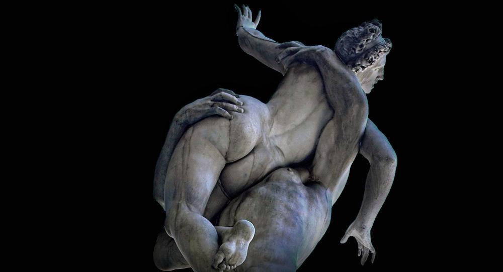Ratto delle Sabine - Giambologna 1574-1580