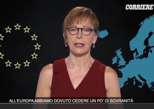Milena Gabanelli in Dataroom