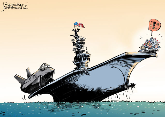 Caccia F-35 non compatibile con portaerei USA