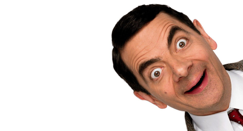 Rowan Atkinson in Mr. Bean