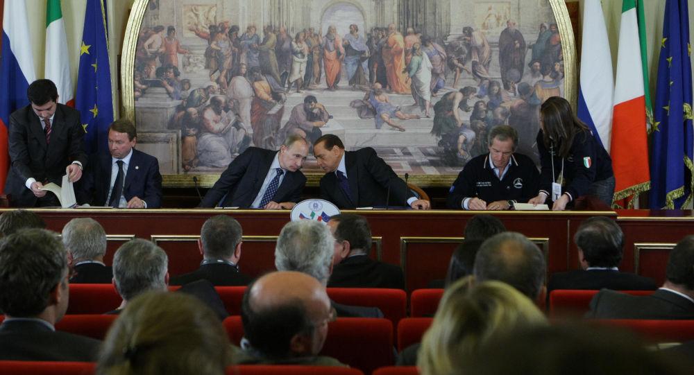 La visita lampo di Putin a Roma