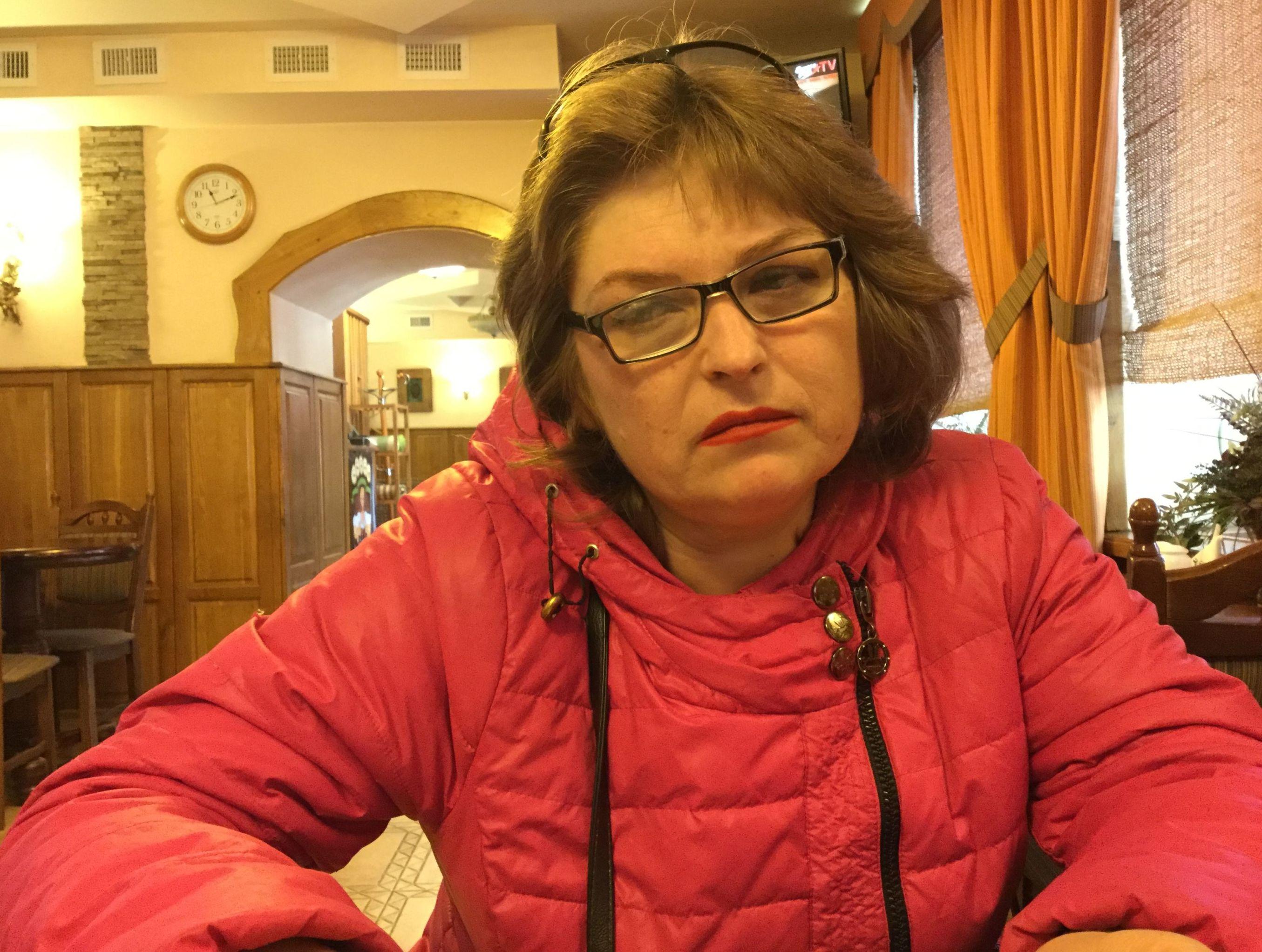 Tatyana Ganzha, ex prigioniera di Mariupol
