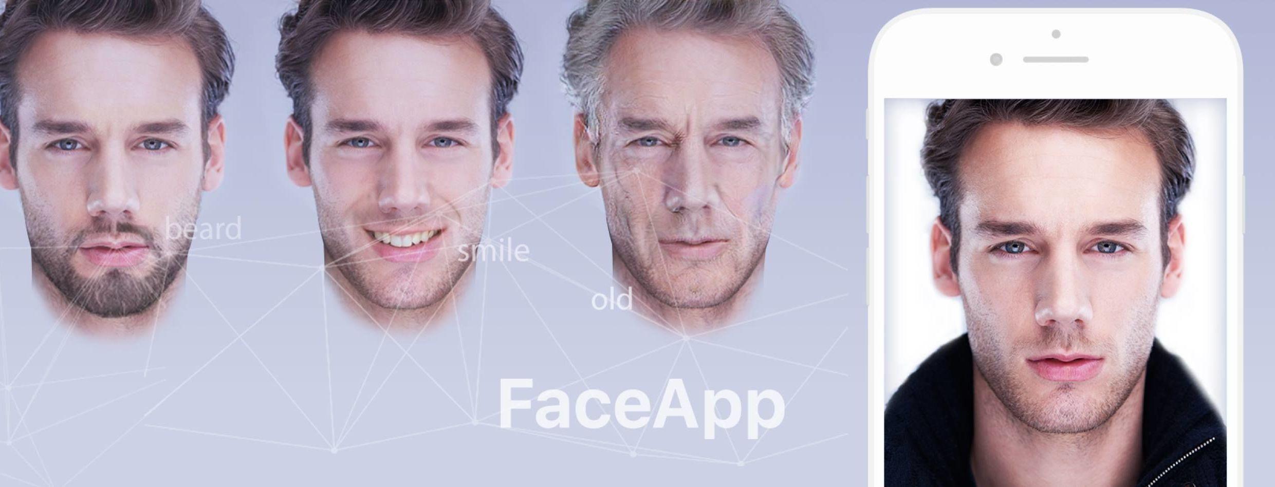 FaceApp, il filtro che invecchia le proprie foto