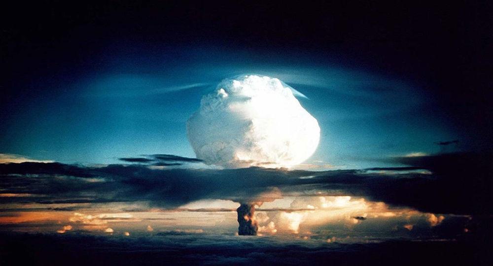 Un test della bomba negli Usa