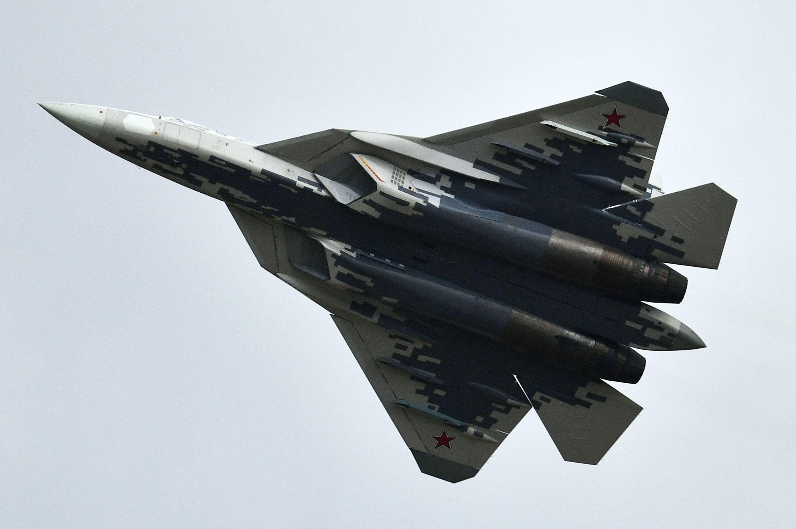 Il caccia multiruolo russo Su-57