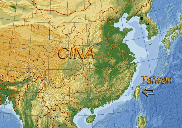 Taiwan, posizione sulla mappa