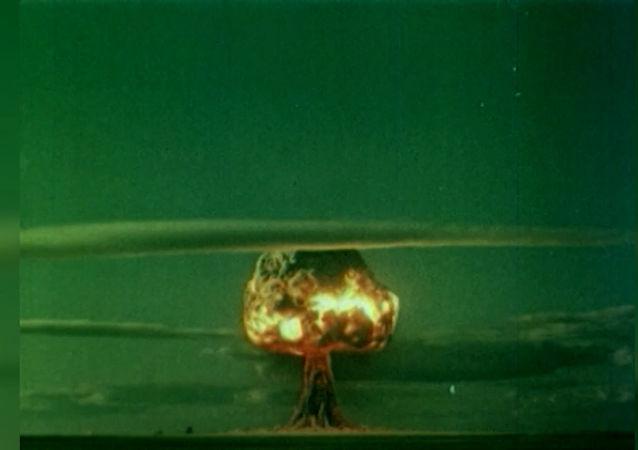 Il primo testi di una bomba atomica nell'URSS