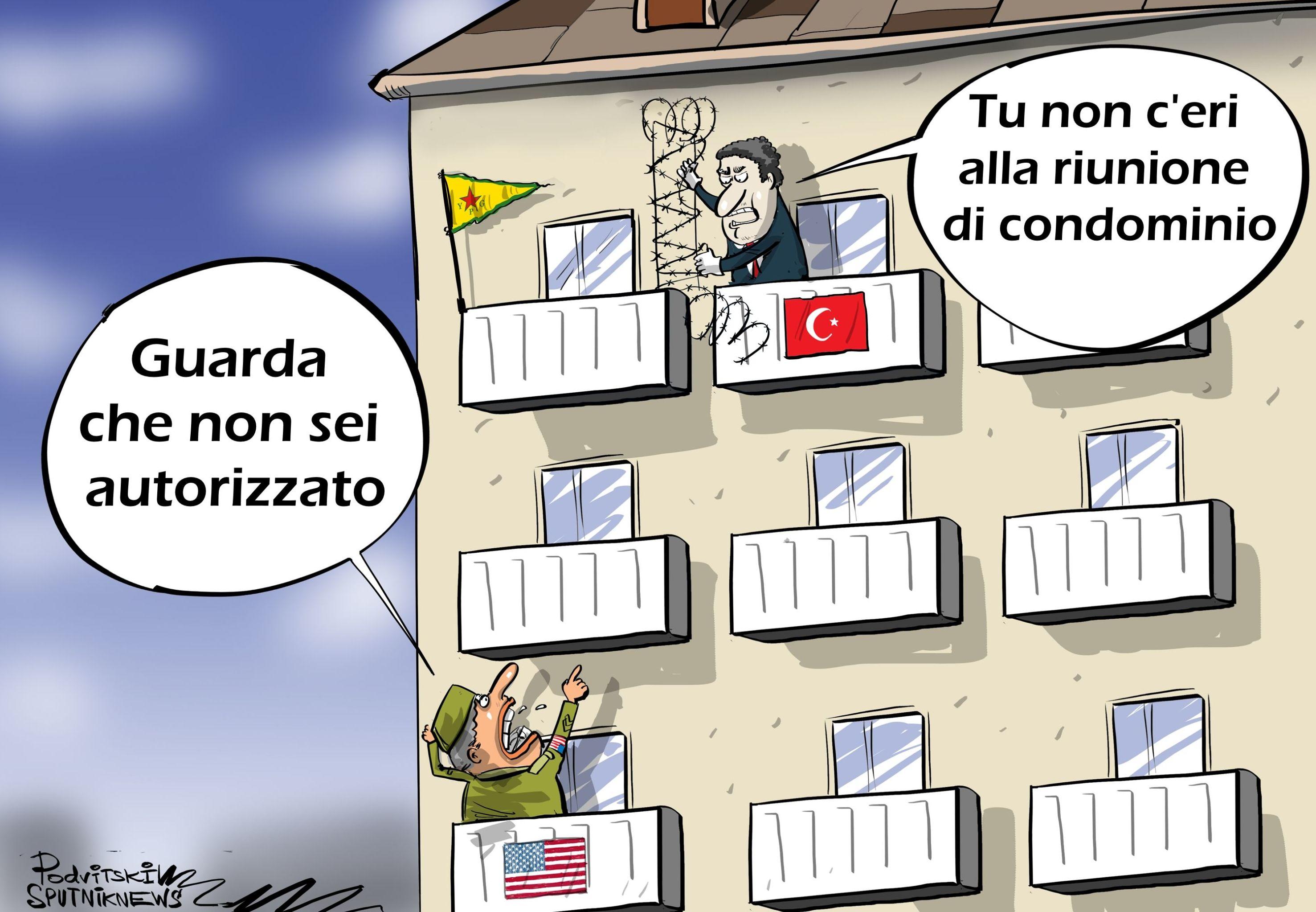 Gli Stati Uniti ritengono inutile la zona di sicurezza turca in Siria