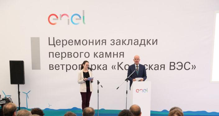 Il direttore generale di Enel Russia Carlo Palasciano