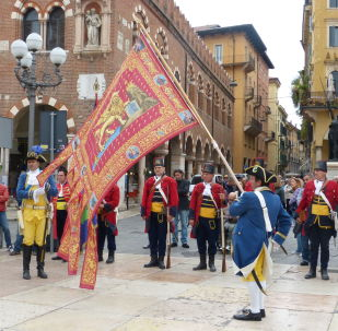 Militi storici veronesi e veneziani a Verona