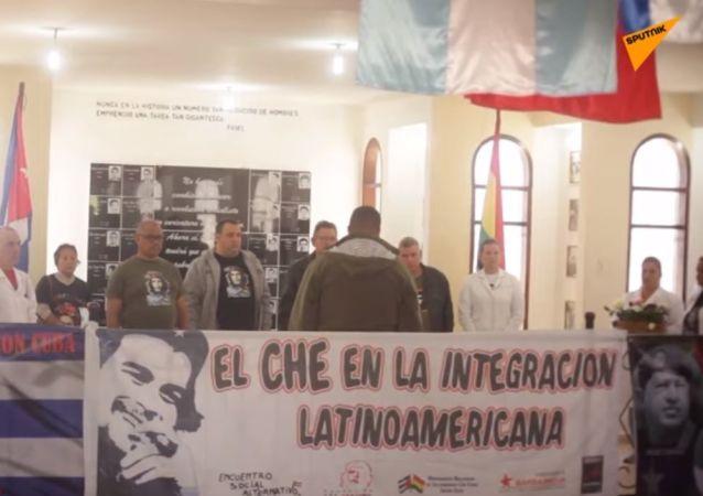 Bolivia: sostenitori rendono omaggio a Che Guevara in occasione del 52° anniversario della sua morte