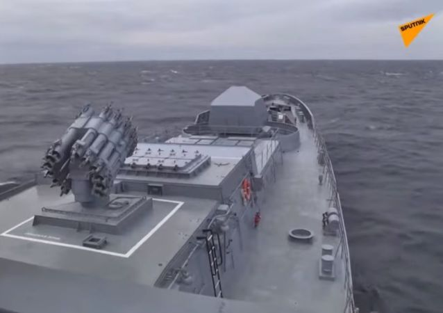 Lancio di missili nel Mar nero