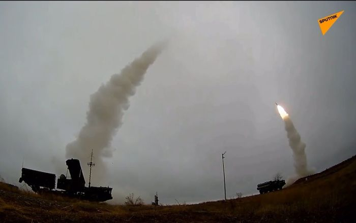 i sistemi missilistici antiaerei S-400 'Triumf'
