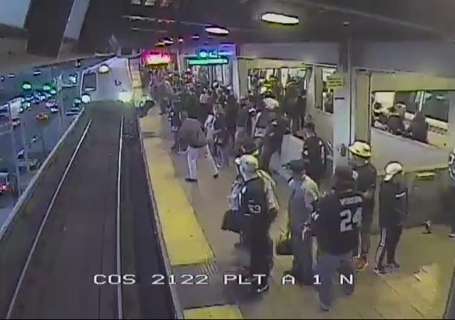 Metro San Francisco incidente
