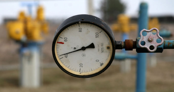 Сentrale del gas nell città di Boiarka, Ucraina.