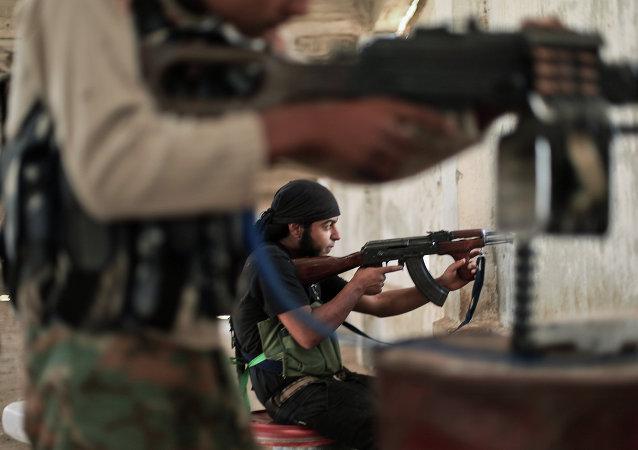 Jihadisti in Siria (foto d'archivio)