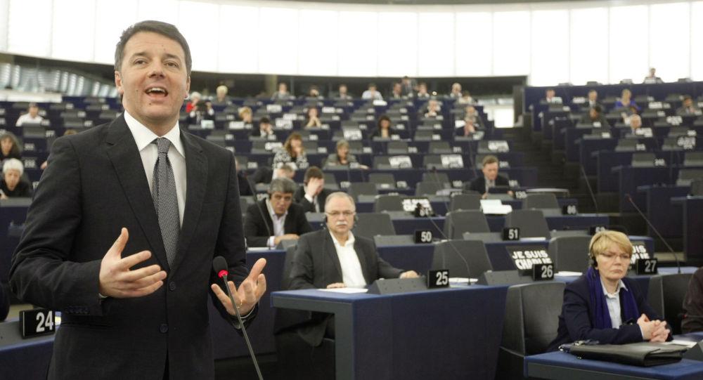 Il discorso del Primo Ministro italiano nel Parlamento Europeo