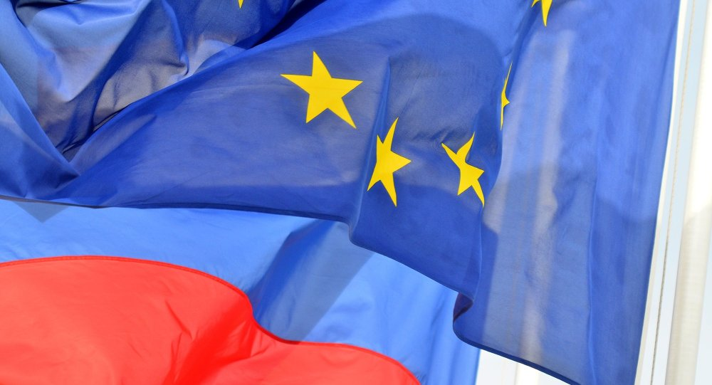 Bandiere Russia-UE