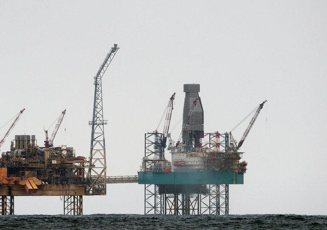 Piattaforme petrolifere, Mare del Nord