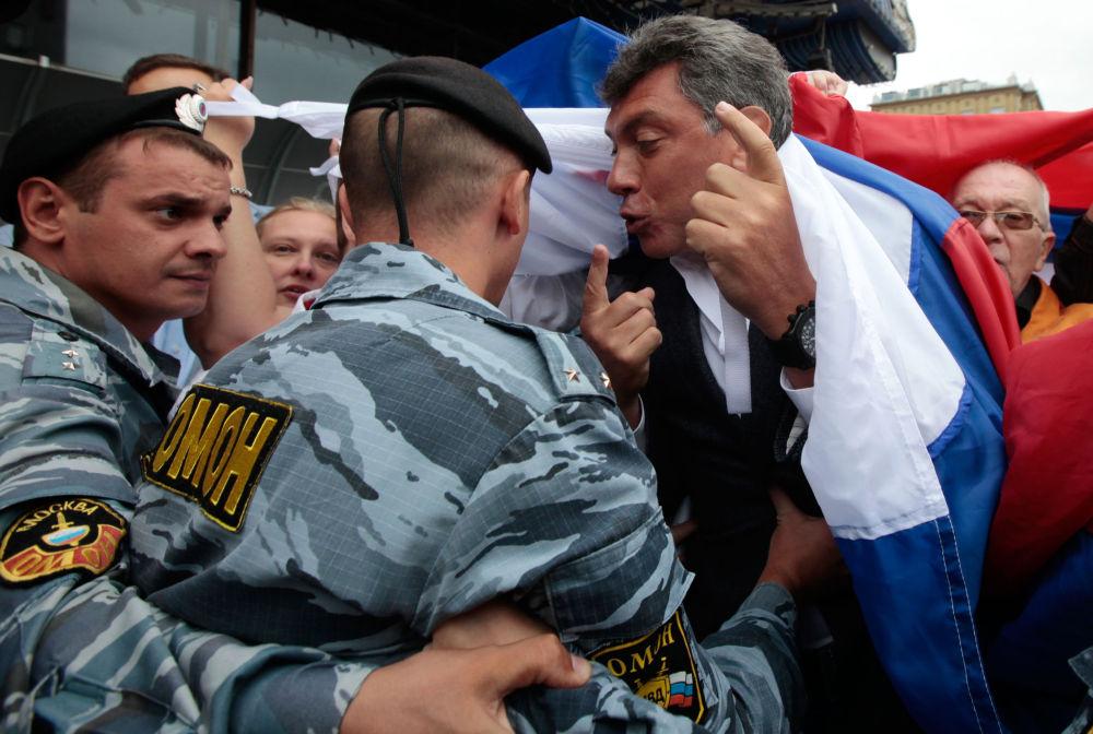 Il politico Boris Nemtsov