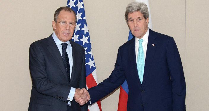 Sergej Lavrov e John Kerry