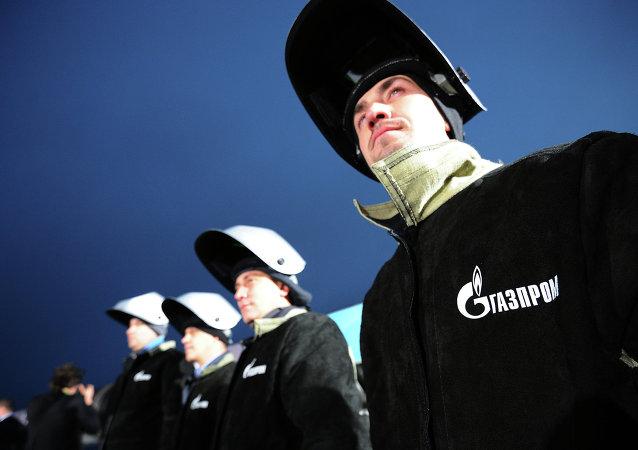 il personale della compania Gazprom