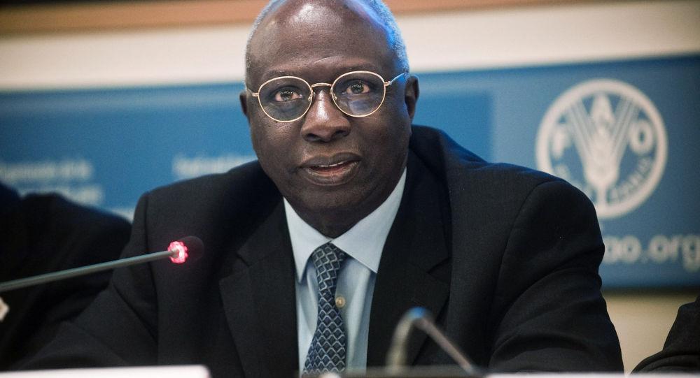 Direttore generale di FAO Jacques Diouf