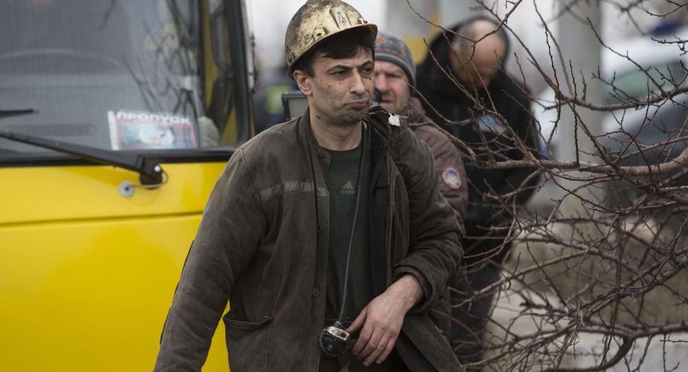 miniera Donetsk esplosione