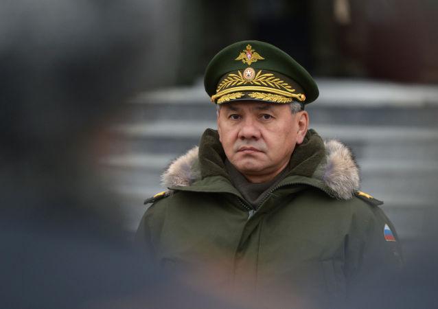 Ministro della Difesa della Russia Shoygu