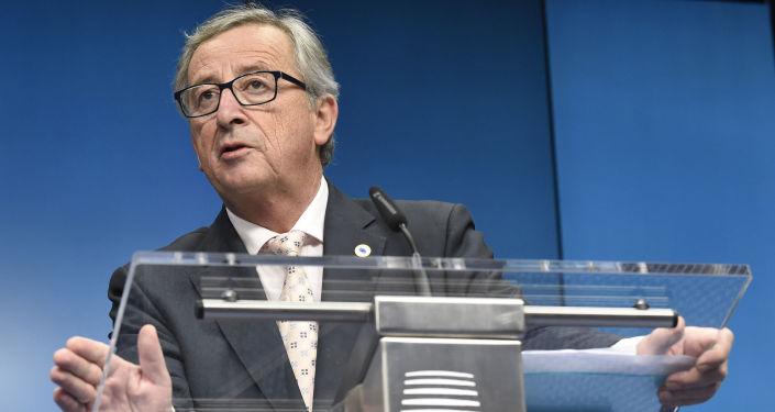 Presidente della Comissione Europea Jean Claude Juncker