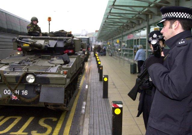Forze di sicurezza e la polizia della Gran Bretagna
