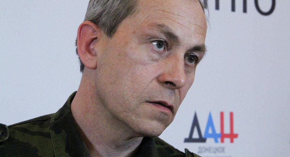 Vice comandante milizia DNR Eduard Basurin