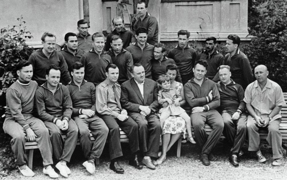La prima squadra di cosmonauti sovietici