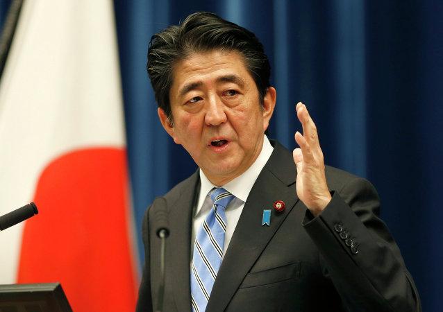 Premier giapponese Shinzo Abe