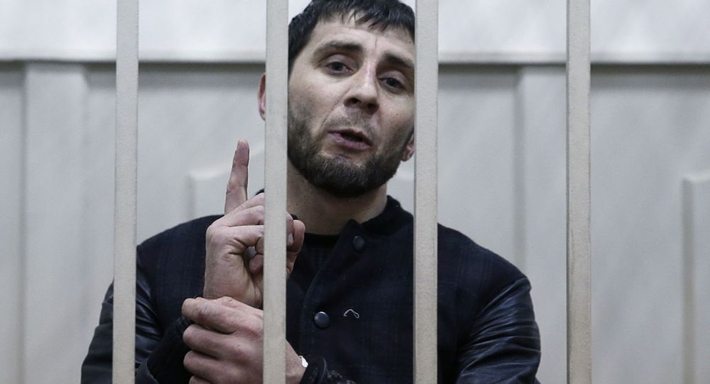 Zaur Dadayev, il presunto esecutore dell`omicidio di Boris Nemtzov