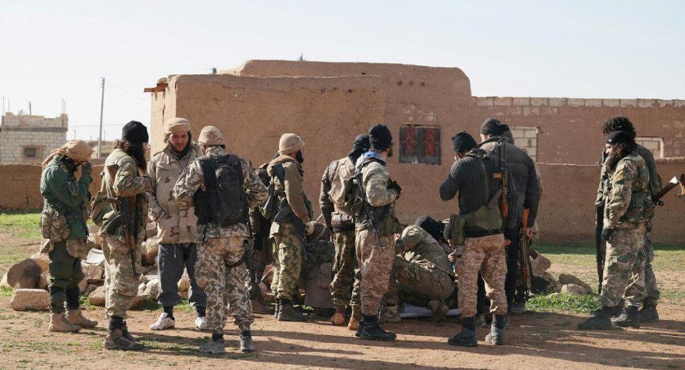 Militanti dell'ISIS in Siria