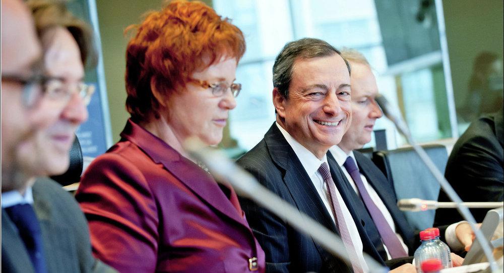Il presidente della BCE Mario Draghi
