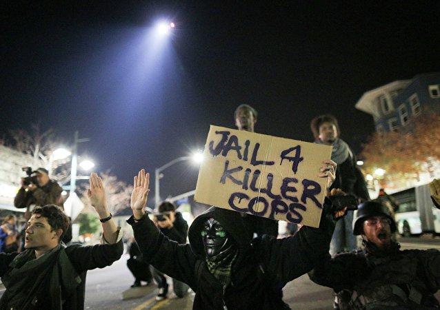 Le proteste a Ferguson,