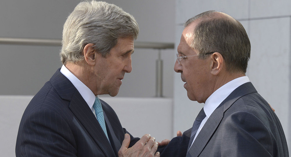 John Kerry e Sergey Lavrov (foto d'archivio)